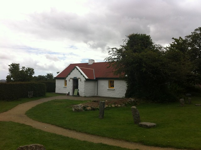 Greenan maze is within Greenan farm. This is Greenanhouse cottage and cafe, in the same estate hosting Greenan Maze