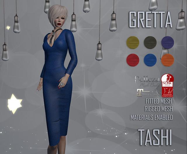 TASHI Gretta
