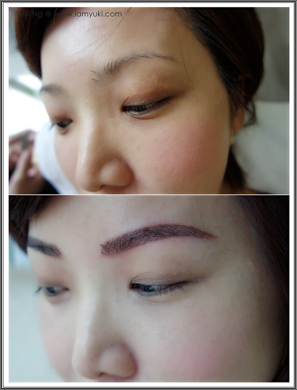 Yuki Ng Beauty Recipe Nano Korean Eyebrow Embroidery003