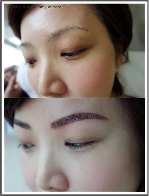 Yuki Ng Beauty Recipe Nano Korean Eyebrow Embroidery003