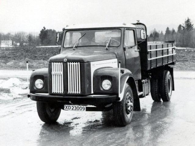 Бортовой грузовик Scania-Vabis L80. 1969 год