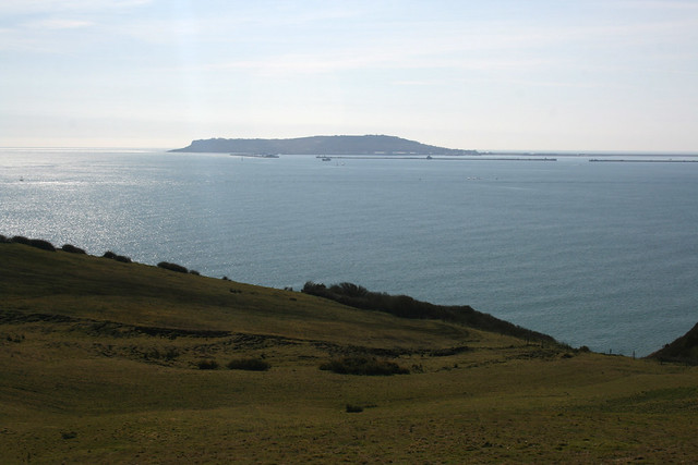 The Isle of Portland from Black Head