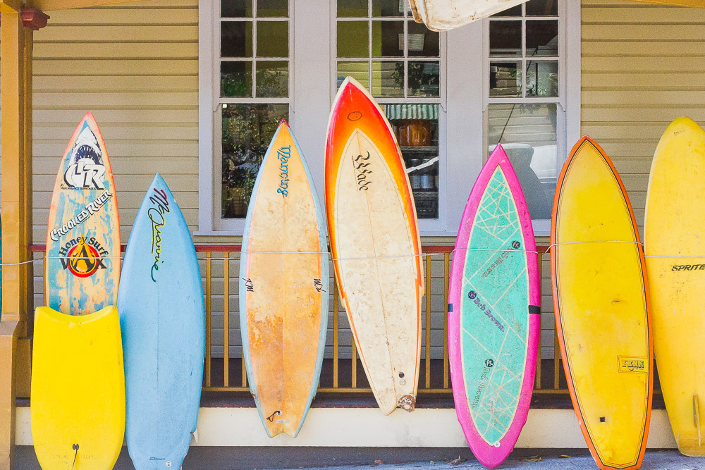 byron bay retro colourful surfboards for sale