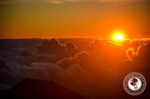Sunrise At Haleakala Volcano
