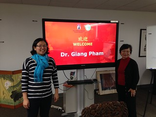 December 11 '15 Meeting with Professor Giang Pham