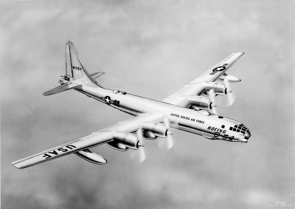 Boeing B-54  Boeing photo