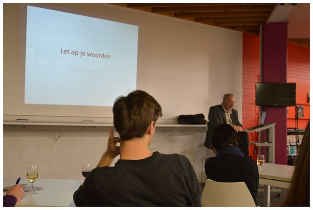 2015 Let op je woorden - Jan Blommaert #focusop