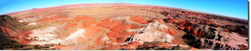 Painted Desert Panorama From Kachina Point 1