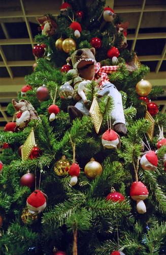 The big bad wolf Christmas tree