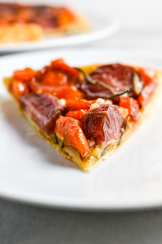 Carrot, Sweet Potato, and Purple Potato Tart Tatin | Things I Made ...