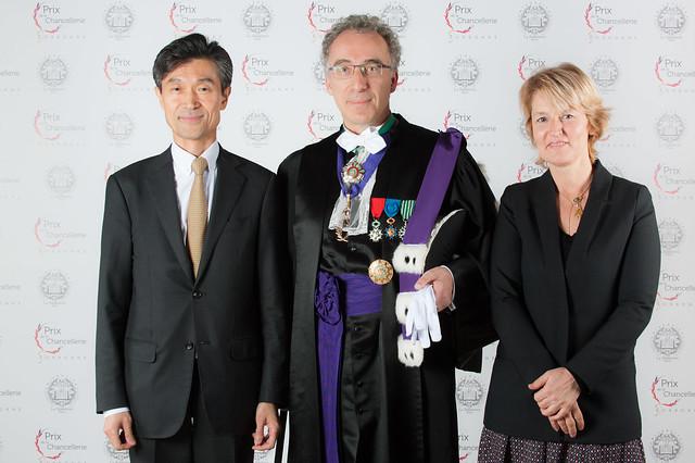 Prix de la Chancellerie 2015 : le photocall!