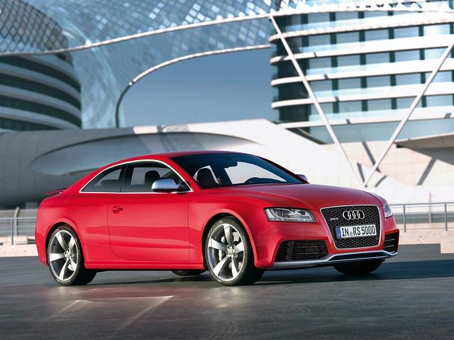 Audi RS5 Coupe. 2011 модельный год