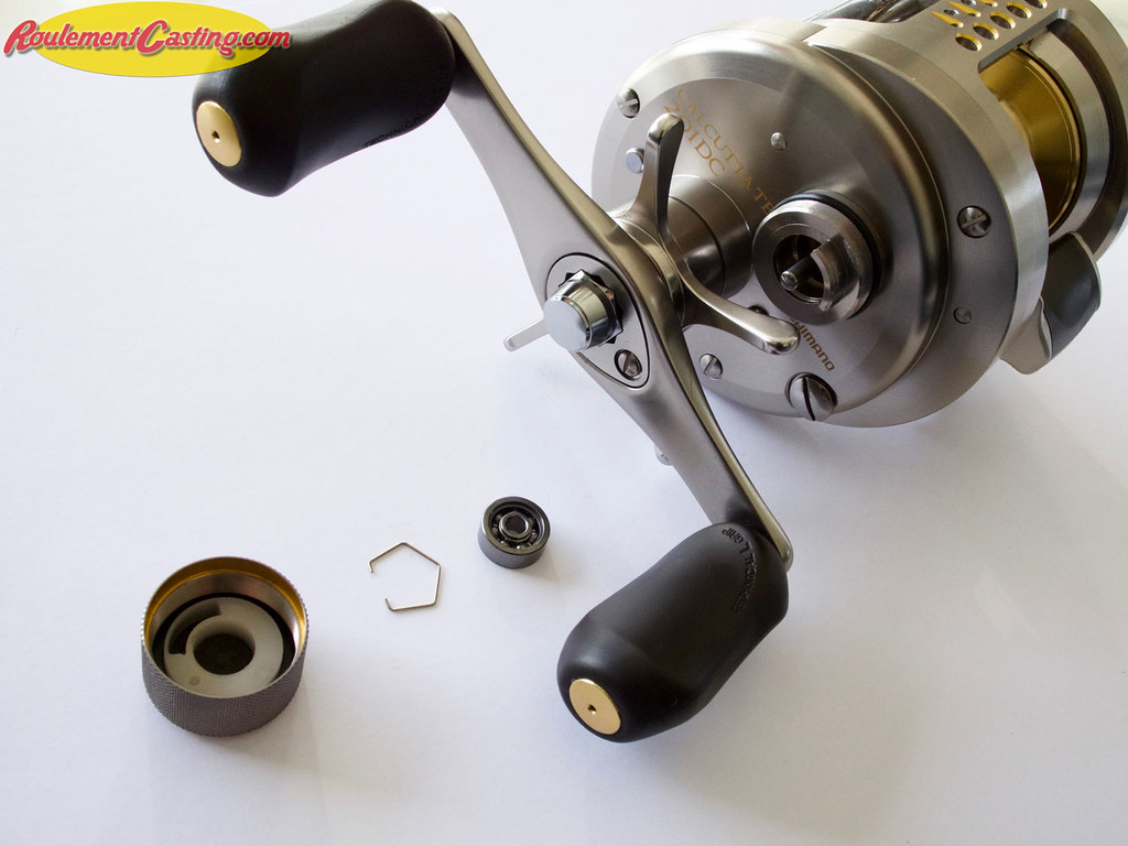 Shimano Calcutta 201DC Spool Bearings Upgrades #9