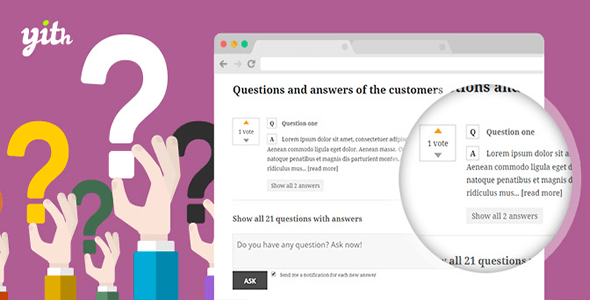 yith WooCommerce Questions and Answers v1.1.1