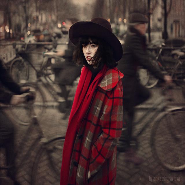 anka zhuravleva - black hat in Amsterdam