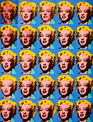 Twenty-Five Colored Marilyns Revisited, Plate 4