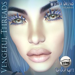 Vengeful Threads - Catwa Lashes - Winter Dryad Exclusive Group