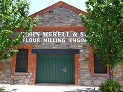 Port Adelaide. John McKell flour milling engineers.
