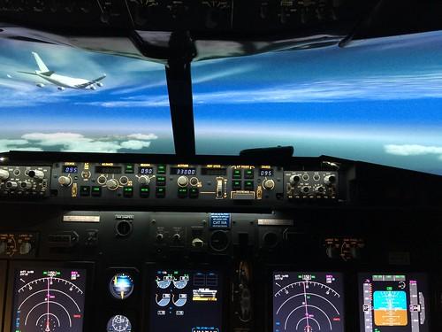 747 overtaking
