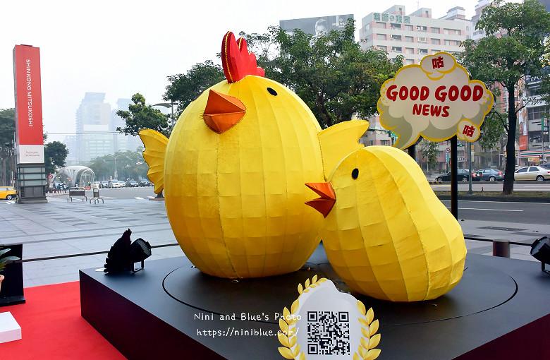 台中新光三越.雞年燈展.台中景點活動10