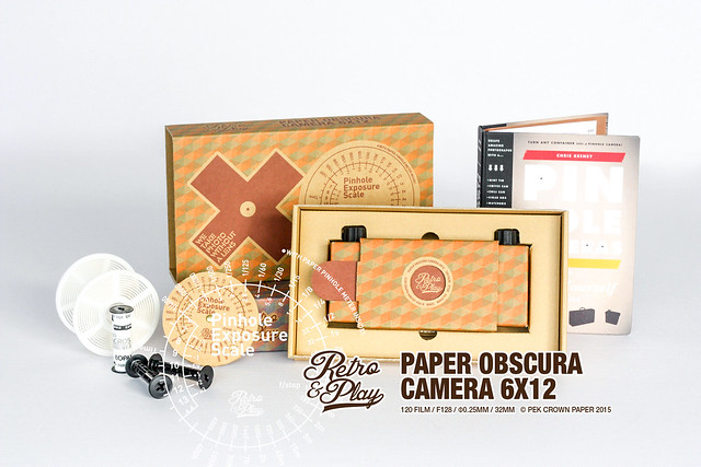 DIY Paper Obscura Camera 6x12