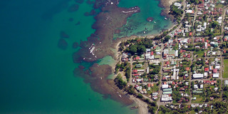 Caribbean coast town