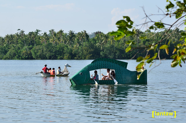 Boating at Lake Danao