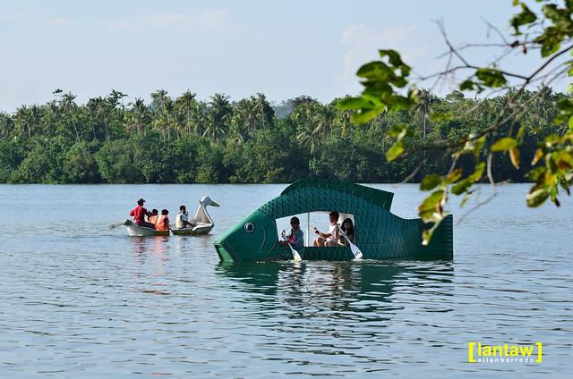 Boating at Lake Danao