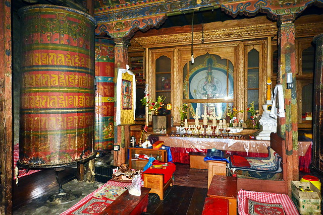 India - Sikkim - Tashiding - Tashiding Monastery - Prayer Hall - 50
