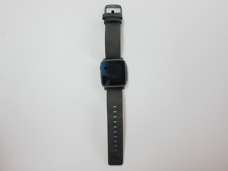 Pebble Time Steel Watch