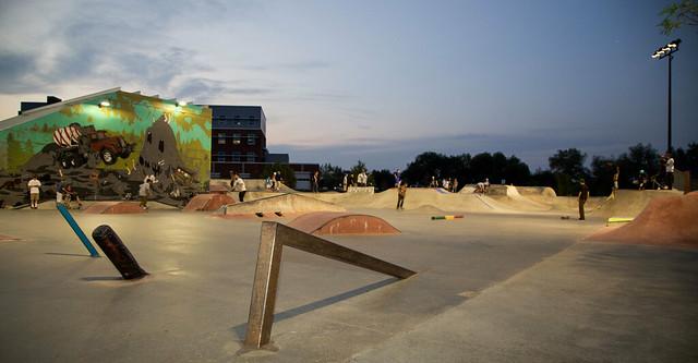 Skate Park Lights