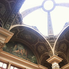 Post office ceiling #barcelona #correos