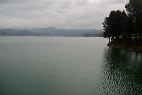 Pantano de Iznajar, Córdoba