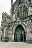 Hereford Cathedral outside view Nave B by Jacek Wojnarowski Photography