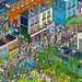 Where's Ezra? George Ezra Game for Columbia Records - isometric pixel art illustration by Rod Hunt