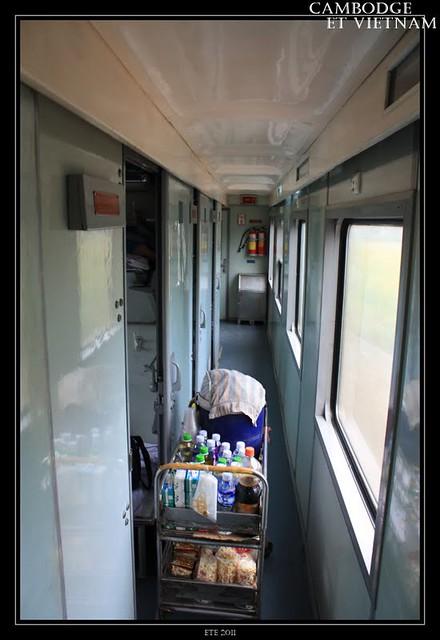 Jour 13 : 14 août 2011 : Train vers Hué