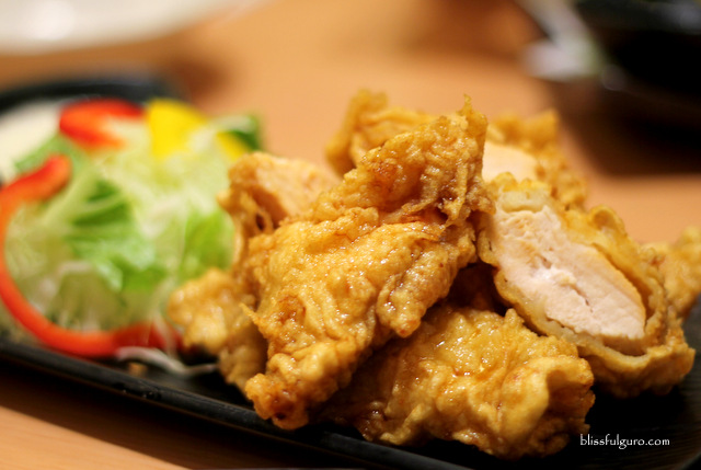 Saboten Makati City Chicken Nanban Set