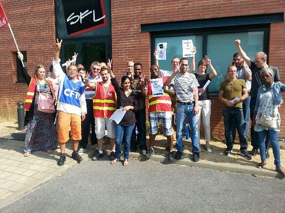 Grève à la SFL, filiale de Fnac