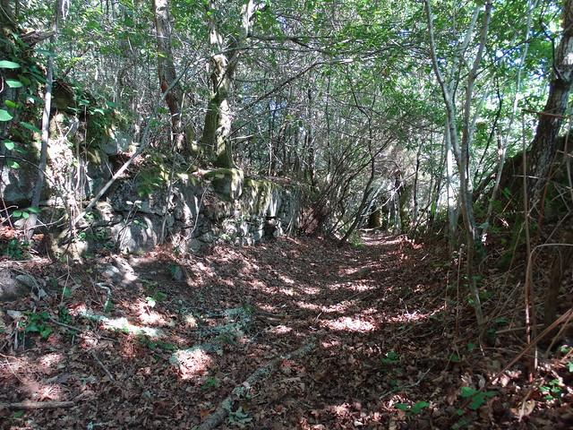 Camino de la Aldea abandonada de Vichocutín en Cerdedo