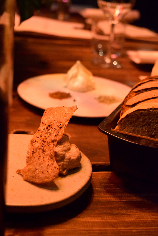 Chicken Parfait & Chicken Skin, Timberyard, Edinburgh