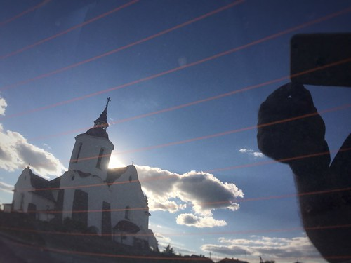 reflection building church outdoor belarus soly