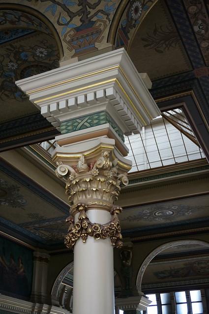 Mackie Building column