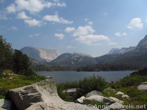 Views over Big Sandy Lake, Wind River Range, Wyoming
