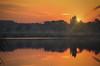 Orange aurun sunrise by k.tusnio