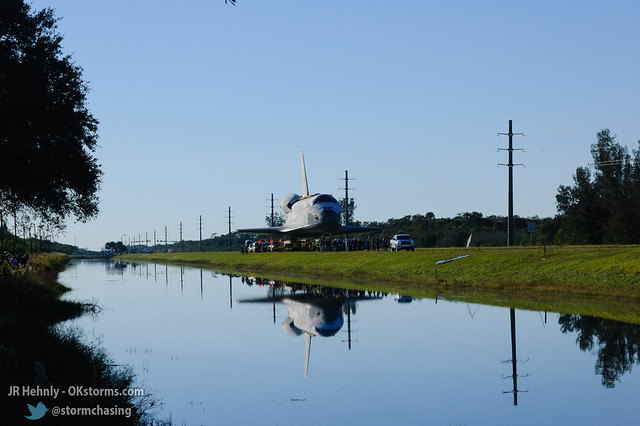 Fri, 11/02/2012 - 17:18 - Upon arriving at the Kennedy Space Center Visitor Complex, Atlantis was joined by a large group of astronauts representing all previous US space programs. - November 02, 2012 5:18:02 PM - , (28.5258,-80.6823)