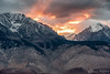 Fire Over the Peaks by Pismopup Photography