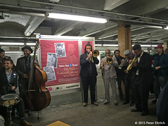 NEW YORK SUBWAYS--Take The A Train Band.  1 of 4