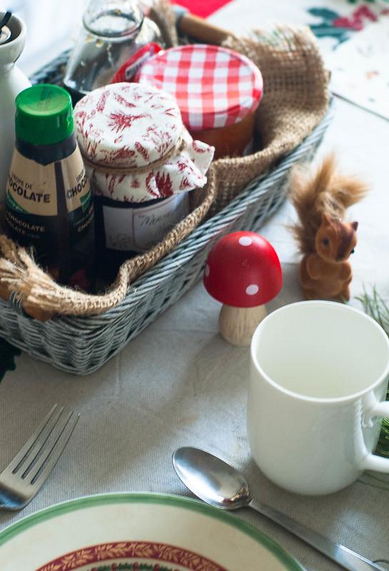 Desayuno Mesa navideña