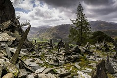 The Slate Uprising . . . Explore 25-11-15 by BJE Landscape Photography