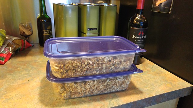 Forks Over Knives Banana Almond Granola